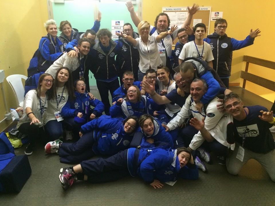 La nazionale FISDIR presente agli Europei 2015 a Loano