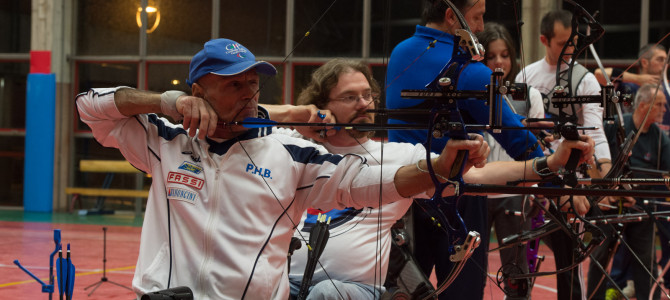 Bronzo per Schieda agli Italiani Para-Archery