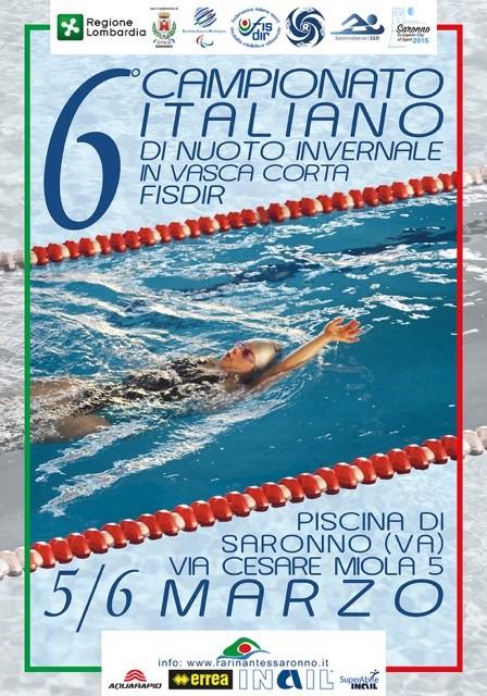manifesto_sesto_campionato_italiano_nuoto_agonistico_piscina_saronno