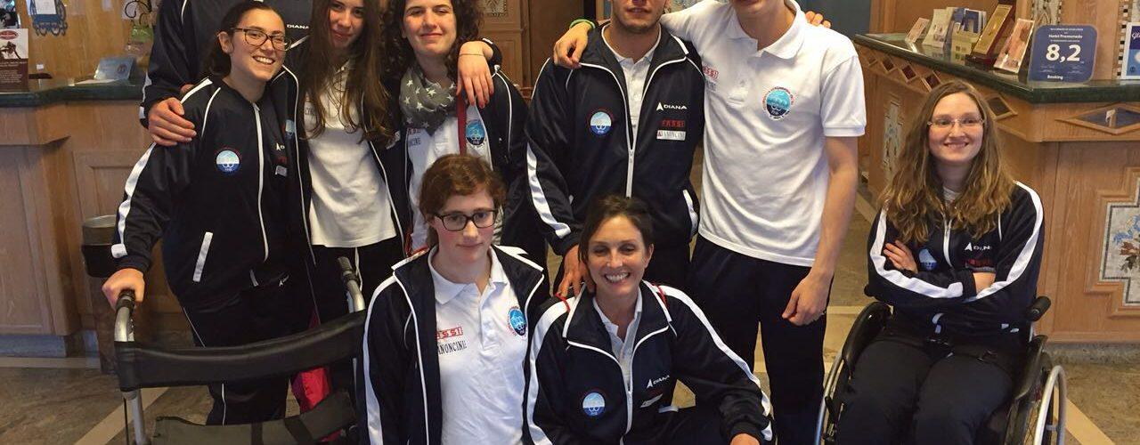 16 medaglie ai Giovanili FINP di Pescara
