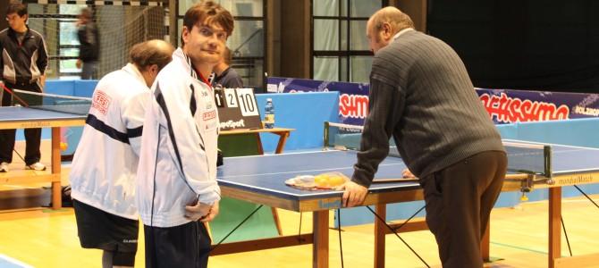Franco Dolci è argento agli Italiani di Tennis Tavolo
