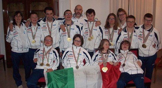 32 medaglie agli Assoluti FISDIR di Loano