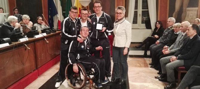 Il Comune di Bergamo premia i Campioni Italiani 2016