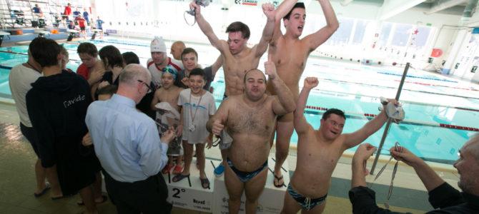 PHB terza nel nuoto FISDIR a Lumezzane
