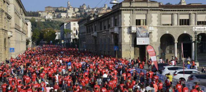 Sabato 9 a fare promozione a Bergamo e Dalmine