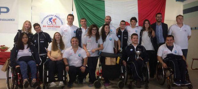 Ottimo 4° posto per la squadra di Nuoto HF a Brescia