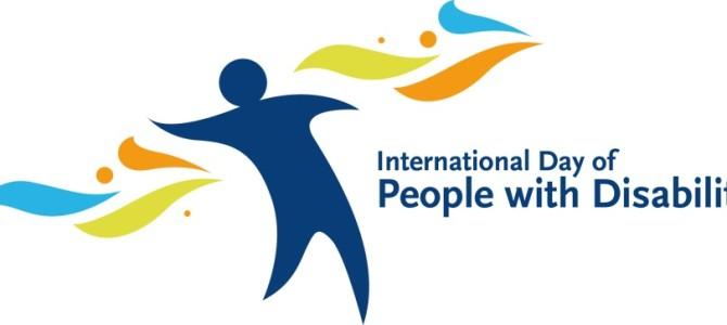 Il 3 Dicembre è il giorno delle persone con disabilità
